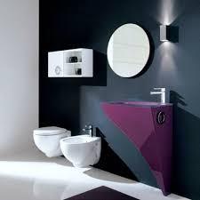 elegantes lila badezimmer design novello