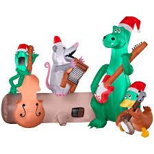 Holiday Living 524ft X 37073ft Lighted Alligator Band Christmas