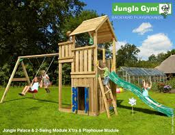 The Jungle Gym Palace Playhouse 2 Swing Climbing Frame - Climbing ... Jungle Club Gym In The Backyard Of Kindergarten Stock Image Online Chalet Swing Playground Accsories Boomtree Multideck Sky 3 Eastern Great Architecturenice Backyards Fascating Plans Fort Firemans Pole Superb Gyms Canada Tower 12ft Swings With Full Height Climbing Ramp Picture With Fabulous Childrens Outdoor Play Ct