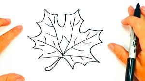 How to draw a Autumn Leaf