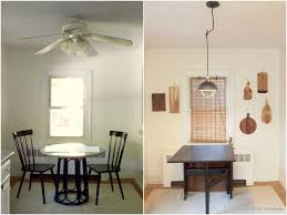 KitchenIndustrial Light Before And After Kitchen Fan With Update The Ceiling Is Finally Gone