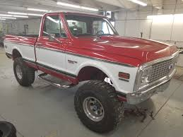 Chevy 4x4 1972 | Wasatch Customs