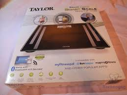 Taylor Bathroom Scales Customer Service by Review Of Taylor Bluetooth Smart Scale Technogog