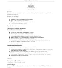 Download Massage Therapist Resume Objective Examples