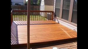 how to sand stain and seal a 12x12 pine deck using a belt sander
