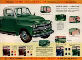 100 1954 Gmc Truck For Sale What Is A Deluxe Blue Optioned Chevrolet The Stovebolt Ums