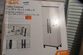 Hdx Plastic Storage Cabinets by Home Store Bath Shelving Storage Returns U0026 Clearance In Winsted
