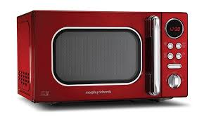 20L Red Accents Microwave 511502