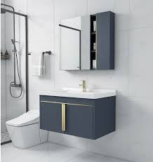neue verdickt edelstahl luxus bad schrank kombination bad