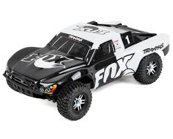 100 Slash Rc Truck Traxxas 4X4 VXL Brushless 110 4WD RTR Short Course Fox