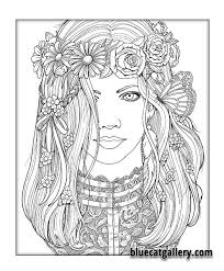 Color Me Beautiful Women Of The World Coloring Book Victorian Lace More