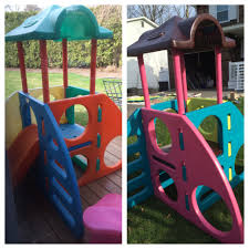 Little Tikes Makeover ! Climber - I Love Spray Paint !! | Painted ...