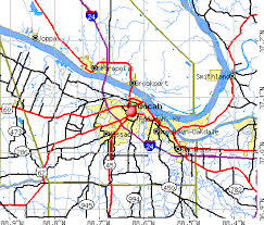 Paducah Kentucky KY profile population maps real
