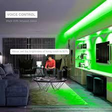 sp501e led wifi light controller for ws2812b ws2811 addressable rgb smart spi voice app andriod ios dc5 24v