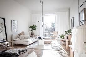 wohn und schlafzimmer in einem raum wohn und schlafzimmer