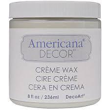 Americana Decor Creme Wax 8 Oz Clear by Brand Decoart Macphersons