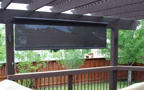 Outdoor Shades For Patio by Exterior Shades Flatiron Window Fashions