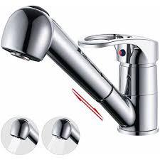 Kテシche Wasserhahn Mit Brause Küchenarmatur Ausziehbar Brause 360 Drehbar Spültischarmatur Küche Wasserhahn Mischbatterie Einhebelmischer Für Küchenspüle