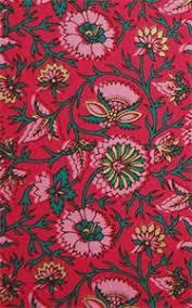 Old Indian Design Multi Colour Print On Hot Pink Matt Printed Designer Paper