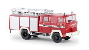 58803 - Brekina - Magirus D Löschfahrzeug LF16-TS