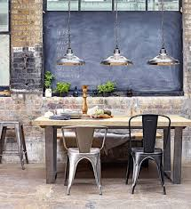 Creating an Industrial Style Dining Room