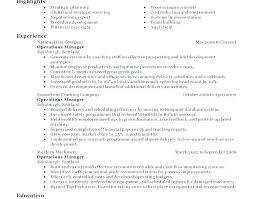 The Best Resumes Examples Example Resume Format