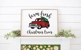 100 Vintage Truck Magazine Everyday Party Christmas Sign Everyday