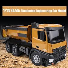 100 Earth Mover Truck Huina 114 Construction RC Dump Mover Remote Control 24G