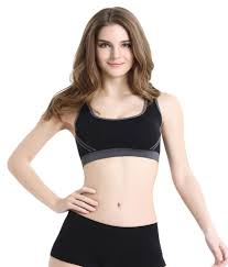 Buy Shocknshop Blend Sports Bras line at Best Prices in India