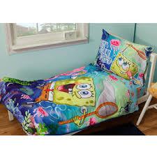 spongebob toddler bedding set neat of crib bedding sets on bed