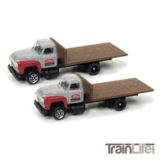 98 N Scale Trucks 1954 Ford Flatbed Truck Ford Parts TrainLifecom