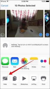How to Hide Multiple s Videos on iPhone or iPad in iOS 9
