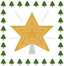 Shining Star Christmas Tree Topper