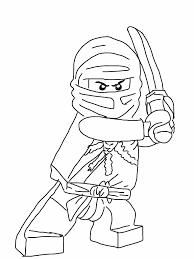 Blue Ninjago Coloring Pages