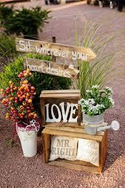 Rustic Chic Fall Wedding Decor Ideas