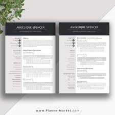 Professional Resume Template 3 Page