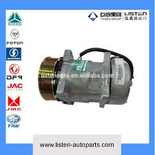 100 Ac Truck Parts High Quality Foton Spare Air Conditioning Compressor