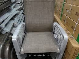 Walmart Outdoor Folding Table And Chairs by Furniture Kirkland Signature Commercial Sling Chair Costco