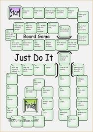 Board Game Just Do It BOARD GAMES Pinterest Esl Template