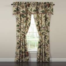 Cheap 105 Inch Curtains by Bright Waverly Kitchen Curtains And Valance 109 Waverly Kitchen