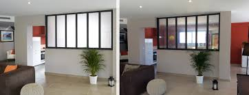 separation cuisine salon vitr stunning cloison verriere chambre contemporary design trends avec