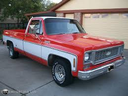 1974 Chevrolet Pickup Truck. 38 Years Old. In Better Shape Than Most ...