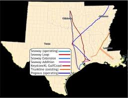 Tar Sand Pipelines In Texas Include Seaway Proposed Loop Enbridge And Enterprise Keystone Gulf Coast TransCanada Trunkline Energy Transfer
