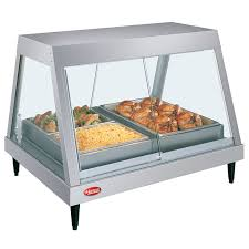 grhd glo ray heated display case hot food merchandiser