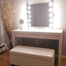 Vanity Table With Lights Around Mirror by Idea 22 Of 23 Dressing Table With Lights Around Mirror Love The
