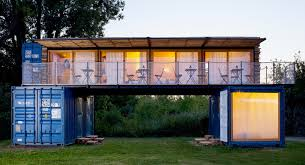 100 House Made From Storage Containers This Small Hotel In The Czech Republic Is Shipping