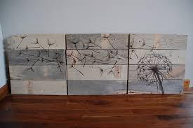 Rustic Wood Wall Art Via Shelterness