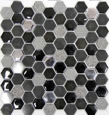 Royal Mosa Tile Canada by Hexagon Mosa 1x1 Mosaic Star Tile Centre