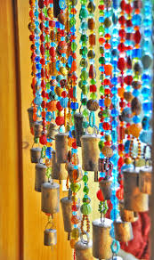 Glass Bead Curtains For Doorways by Beaded Curtain Glass Beaded Suncatcher Window Curtain Beaded Door