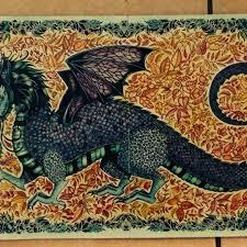 Dragon Enchanted Forest Dragao Floresta Encantada Johanna Basford Coloring BookJoanna